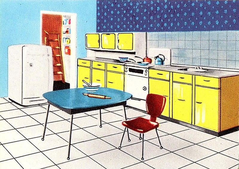 Feature Triang Kitchen