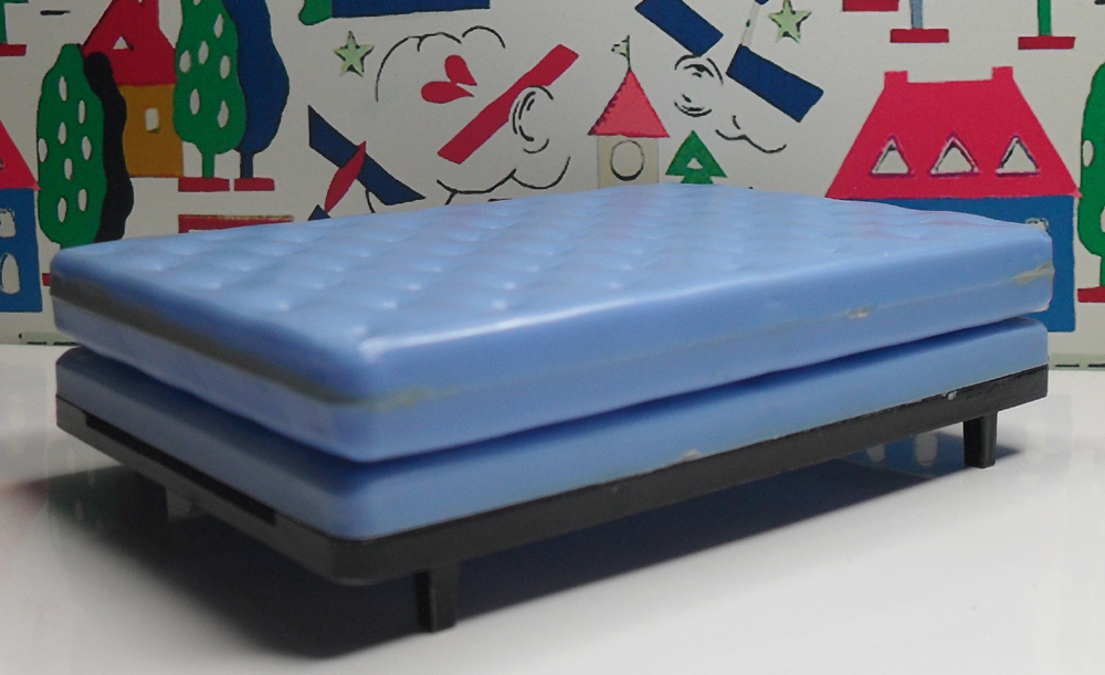 Double Bed with Mattress 1008
