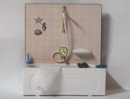 Lundby Bathroom Feature