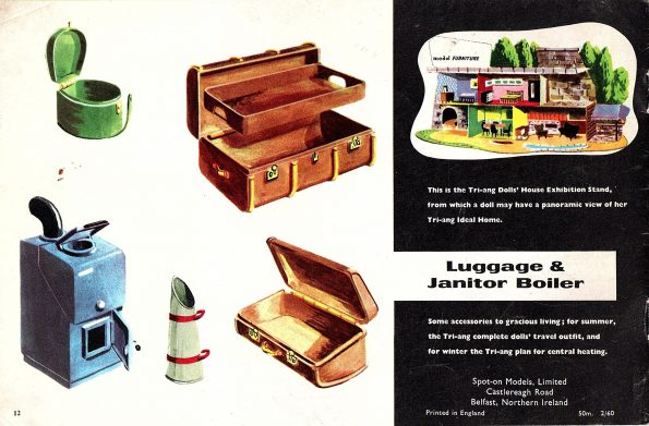 1960 Triang Catalogue