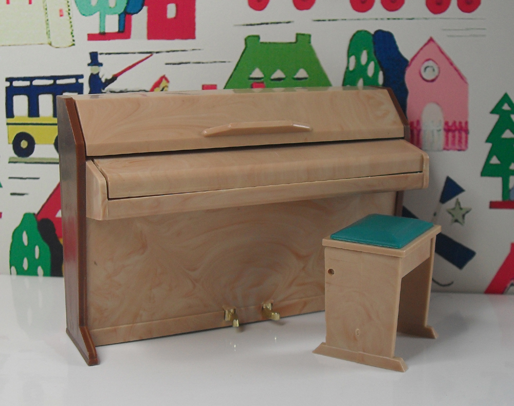 Triang Piano and Stool 1045