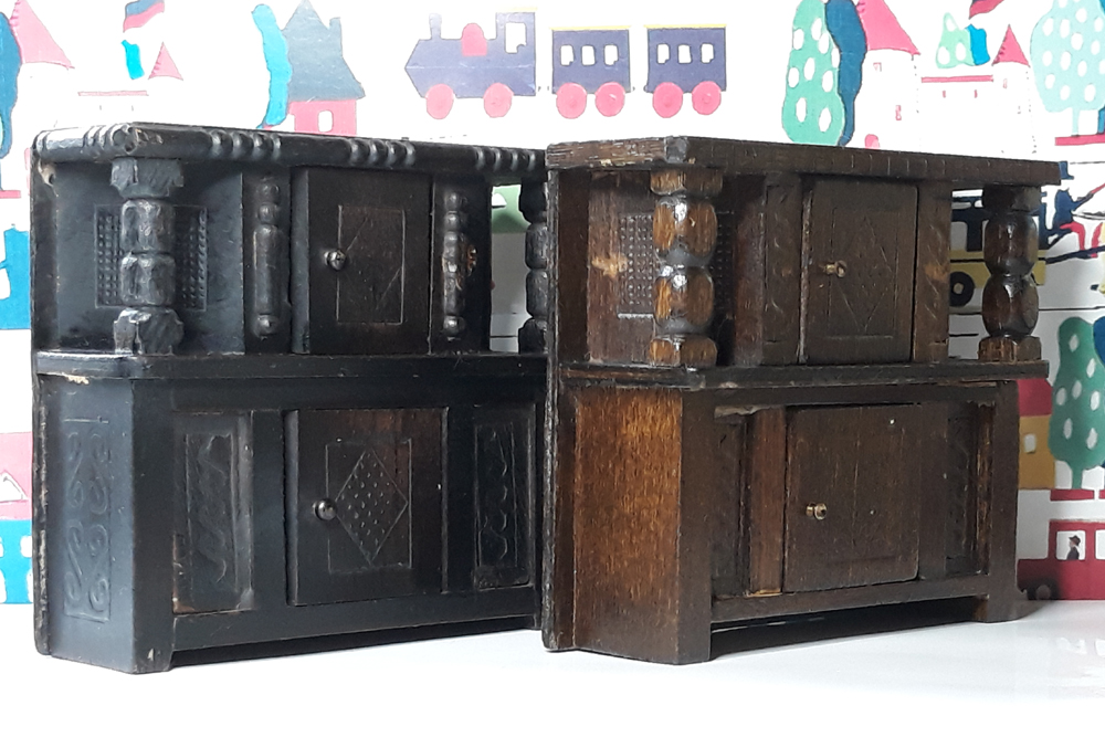 Barton Tudor Court Cupboard