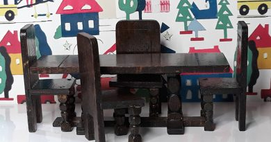 Barton Tudor Refectory Table and Chairs