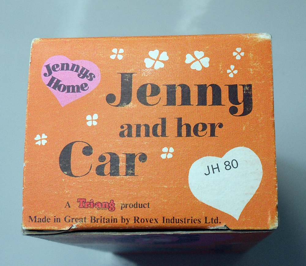 Jenny's Home Austin Healey Box JH80