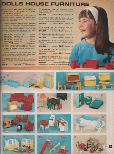 Hobbies Catalogue 1968